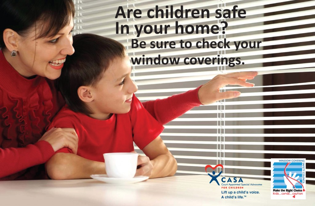 Window Covering Safety Card FRONT CO CASA